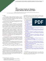 ASTM Standard Practice for Dosimetry