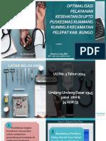 PPT rancangan aktualisasi PNS DOKTER peningkatan pelayanan