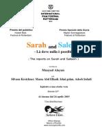 Pressbook Sarah e Saleem 24 Aprile