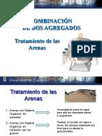 CLASE 2 TRATAMIENTO DE ARENAS Y COMBINACION DE AGREGADOS 1° 2015