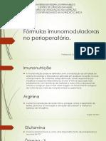 Fórmulas Imunomoduladoras No Perioperatório