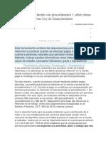 Retención en La Fuente Con Procedimiento 1 Sobre Rentas de Trabajo 2019 Tras Ley de Financiamiento