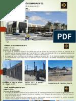 Reporte Semanal No. 22 de Terrazas de David - 02 de Febrero Al 08 de Febrero de 2019