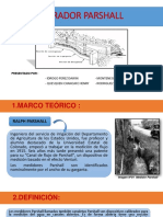 AFORADOR-PARSHALL - GRUPO N°4