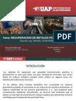 Recuperacion de Metales Por Gravimetria