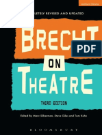 Brecht on Theatre the Development of an Aesthetic