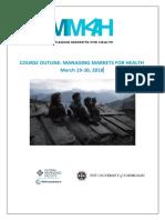 MM4H Course Handbook Spring 2018