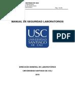 Manual de Seguridad Laboratorios Usc