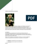 Teoría de La Inteligencia de Jean Piaget