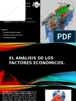 analisis de Factores economicos
