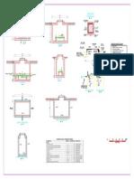 Sistema de Desinfeccion - Planta y Cortes