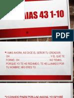 Isaias 43 1-10