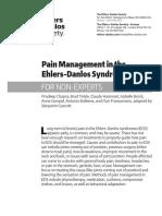 Pain Management in EDS Nonexpert S