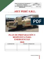 NORMET-SST-PLN-002 PLAN DE PREPARACION Y RESPUESTA PARA EMERGENCIAS 2019.docx