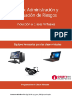 Induccion a Clases Virtuales