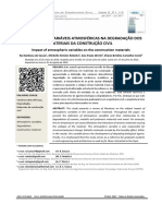 Influencia Das Variaveis Atmosfericas Na Degradacao Dos Materiais Da Construcao Civil