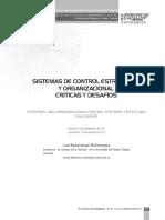 Sistemas de Control Estrategico y Organizacional
