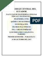 Terremoto de Valdivia Quimica de Materiales