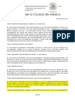 Iniciativa de nueva Ley de la CDHDF