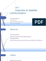 Lecture 1-Introduction to Satellite Communication