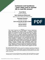 2001 Attachment e Hardiness