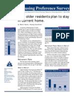 55+ Housing Preference Survey
