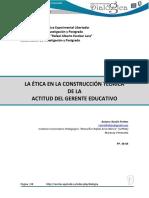 Etica en El Profesional de Educacion Upel Maracay Vzla
