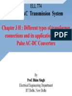 3H.different Types of Transformer Connections and Its Applications in Multi Pulse AC-DC Converters
