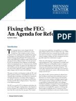 Fixing the FEC
