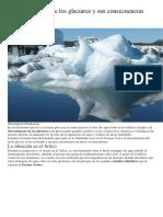 derretimiento glaciares