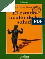 Gadamer, Hans-Georg - El estado oculto de la salud(1993).pdf