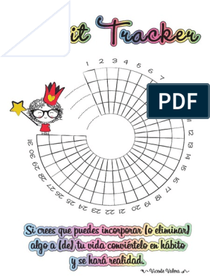 Habit Tracker Martina Pdf