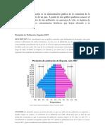 2007 La Pirámide de Población ESPAÑOLA
