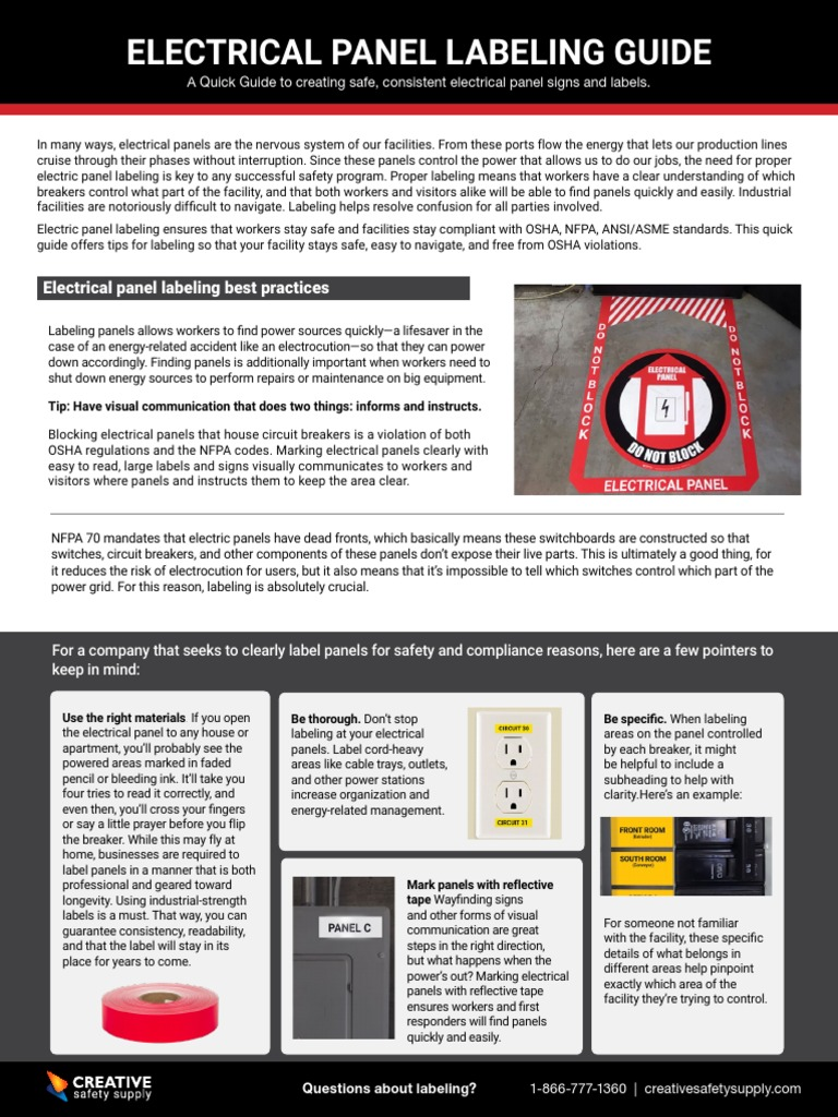 QuickGuide-Electrical Panel Labeling | Ingeniería Eléctrica ... on household breaker panel, house electrical transformer, home circuit panel, house electrical installation, house electrical box, house electrical wire, house electrical conduit, wiring a breaker panel, house wiring, house siding,