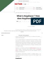 What is Keyphasor _ _ How Does Keyphasor Works