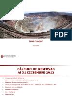 Reservas 2012