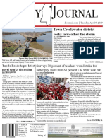 tupelo newspaper redesigned
