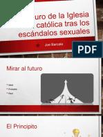 El futuro de la Iglesia católica tras los escándalos sexuales