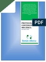 Protocolo de Contencion Mecanica
