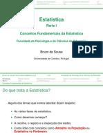Estatistica Handout 1