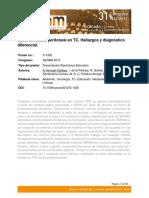 Carcinomatosis Peritoneal TAC