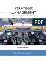STRATEGIC MANAGEMENT - The Art And Science Of Compiling, Implementing, And Evaluating Decisions