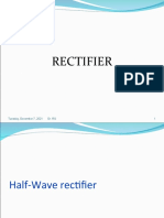 Rectifier and Filters