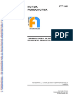 Norma FONDONORMA NTF 1041 2014
