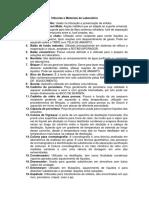 3ª - Tarefa Q. Analítica - Vidrarias e Materiais de Laboratório