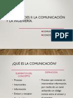 1.1 Comunicación y Sus Conceptos Basicos