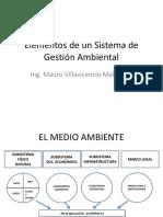 Elementos de Un Sistema de Gestión Ambiental