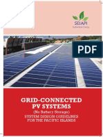 Grid-connected Pv System Design Guidlines 1-1