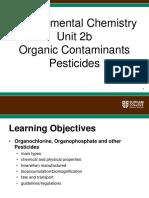 Organic Contaminants