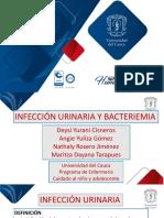 Infeccion urinaria y Bacteriemia.pptx